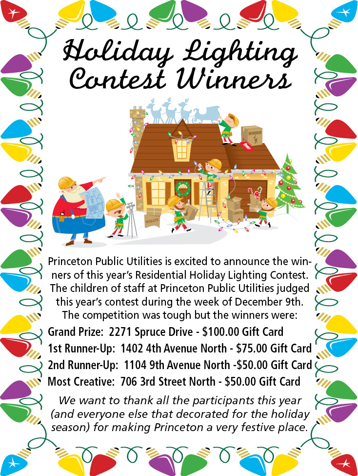 Holiday Lighting Contest Winners
