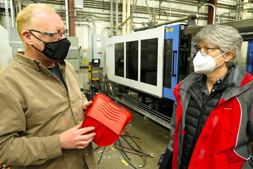 Plastic Products Receives Custom Rebates