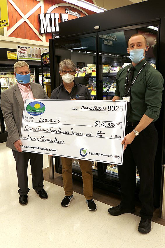 Coborn's Receives Rebates for Refrigerated Display Cases