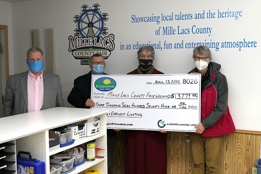 Mille Lacs County Fairgrounds Receives LED Rebate